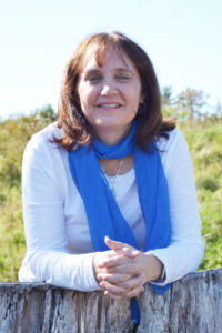 Photo of Michelle Beckman, a memoirist who can help you save a life story and connect all generations of your family.