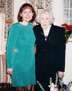 Photo of Founder of Sunday Dinner Stories with her aunt