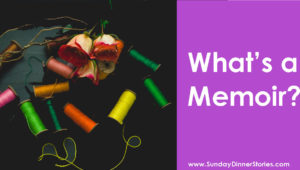What's a memoir meme with spools of vibrantly colored thread