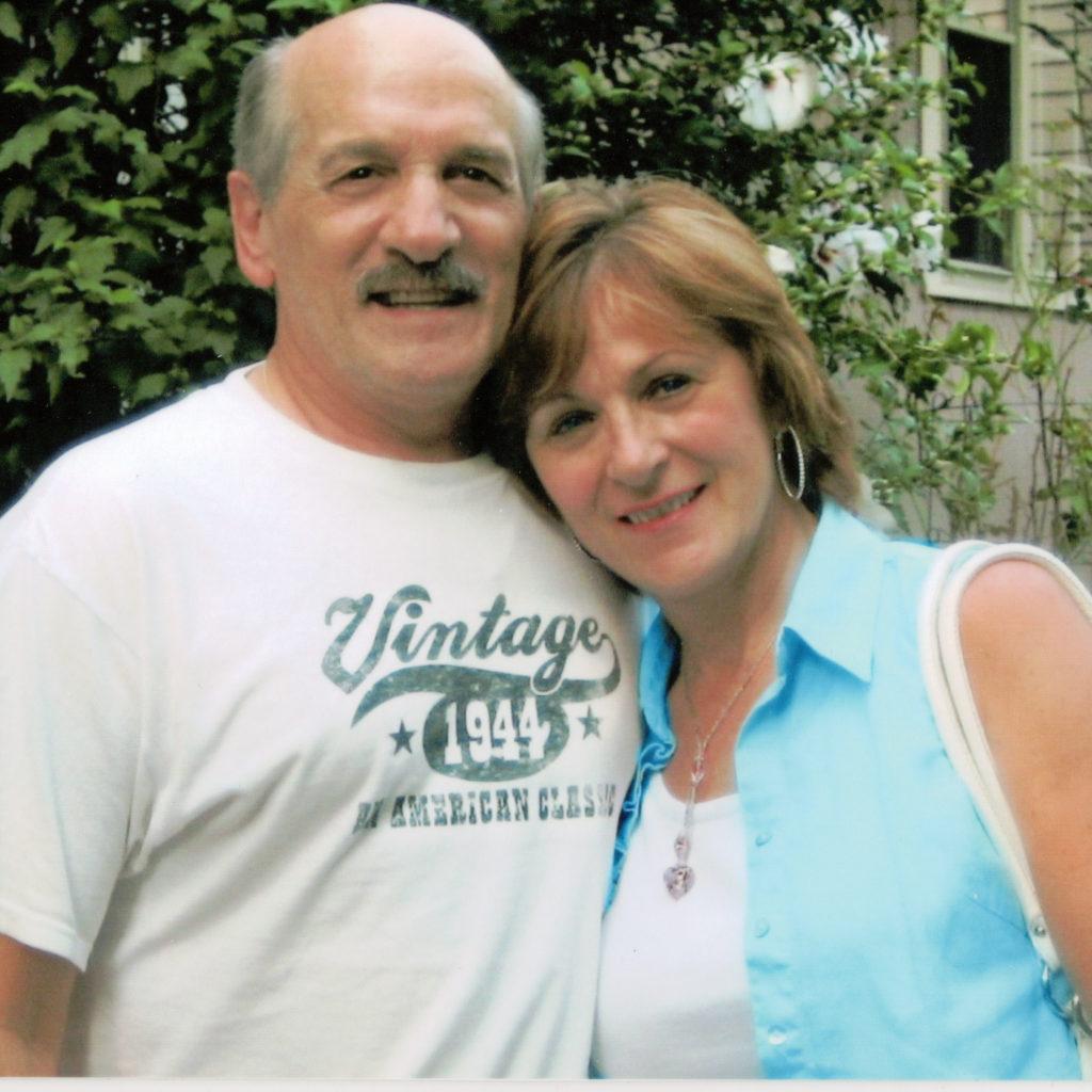 A photo of Storyteller Richie Mastroianni and his wife, Diane Landolfi
