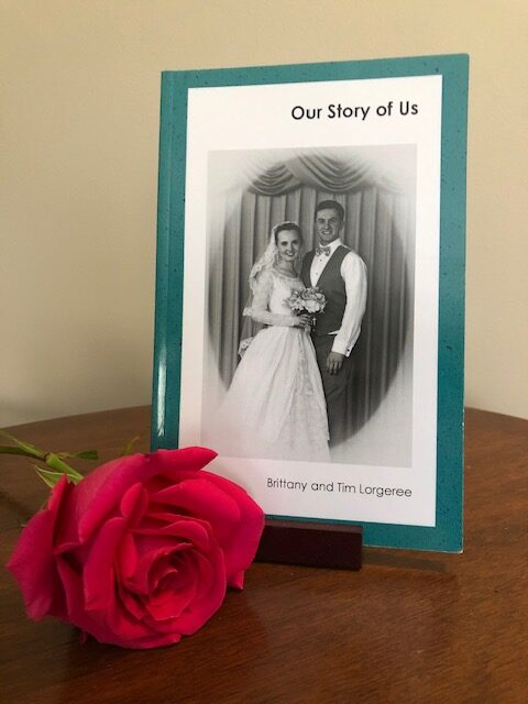 Brittany and Tim Book